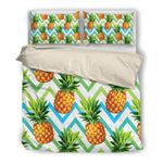 Hawaii Bedding Set, Pineapple Duvet Cover And Pillow Case W8