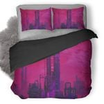 Industry Revolution Digital Art Duvet Cover Bedding Set Ng1410