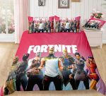 Red ? Fortnite Gamer Duvet Cover Bedding Set Dup