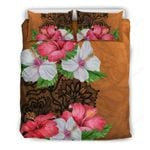 Hawaii Bedding Set, Hibiscus Duvet Cover And Pillow Case H1