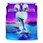 Hawaii Dolphin Bedding Set H5
