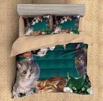 Cats Duvet Cover Bedding Set