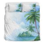 Hawaii Palm Bedding Set 01 J9