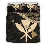 Kanaka Maoli (hawaiian) Bedding Set Golden Coconut A02