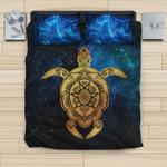 Turtle Sea Hawaiian Bedding Set Nn8