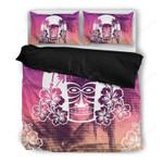 Hawaii Tropical Bedding Set, Tiki Sunset Duvet Cover And Pillow Case K5