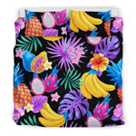 Palm Leaves Fruit Bedding Set - Bn09