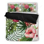 Hawaii Bedding Set, Tropical Duvet Cover And Pillow Case H5