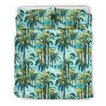 Hawaii Bedding Set, Palm Tree Duvet Cover And Pillow Case J7