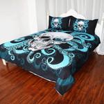Skull Octopus Blue Tentacles Pq 9080 Bedding Set – Pq Art Shop
