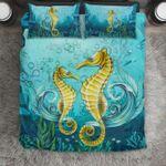 Hawaii Bedding Set, Seahorse Duvet Cover And Pillow Case J7