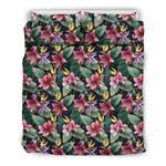 Hawaii Bedding Set, Tropical Duvet Cover And Pillow Case J7
