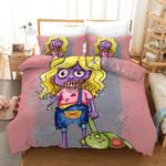 Zomebie Girl 2 Bedding Set Duvet Cover Set Bedroom Set Bedlinen