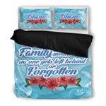 Hawaii Bedding Set, Ohana Mean Family Duvet Cover And Pillow Case H21