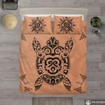Hawaii Turtle Bedding Set, Honu Duvet Cover And Pillow Case K5