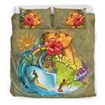 Polynesian Girls Bedding Set - Bn01