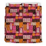 Hawaii Tiki Pattern 03 Bedding Set A7