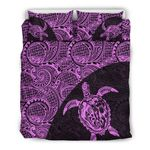 Hawaii Bedding Set, Tribal Turtle Mermaid Duvet Cover And Pillow Case Th90