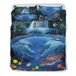 Hawaii Turtle Bedding Set, Tropical Island Duvet Cover And Pillow Case Th72
