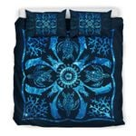 Hawaii Turtle Bedding Set, Dolphin Hibiscus Duvet Cover And Pillow Case Nn4