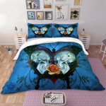 3d Skull Usa Cool Bedding Set