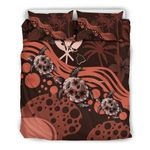 Hawaii Bedding Set - Pink Turtle Hibiscus A24