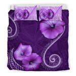 Hawaii Bedding Set - Hibiscus Purple - Bn09