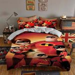 The Incredibles  Bedding Set (Duvet Cover & Pillow Cases)