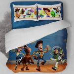 3d Life Of Toy Story Bedding Set (Duvet Cover & Pillow Cases)