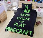 Minecraft Letters Duvet Set