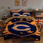 Chicago Bears Bedding Set Sleepy (Duvet Cover & Pillow Cases)