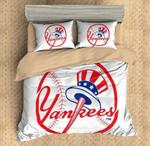 New York Yankees Duvet Cover Bedding Set