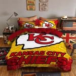 Kansas City Chiefs Bedding Set Sleepy (Duvet Cover & Pillow Cases)