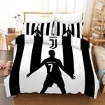 3d Juventus Cristiano Ronaldo 7 Soccer Player Bedding Set  (Duvet Cover & Pillow Cases)