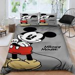 Mickey Mouse B0609159 Bedding Set (Duvet Cover & Pillow Cases)