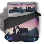 Lord Of The Rings Middle Earth 4e Bedding Set ( Duvet Cover And Pillowcase)