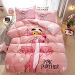 Pink Panther Bedding Set (Duvet Cover & Pillowcases)