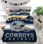 Dallas Cowboys Football Logo Duvet Cover Bedding Set