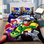 Teen Titans Bedding Set Sleepy (Duvet Cover & Pillow Cases)