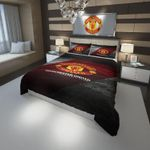 Manchester United Fc Football Club #3 Duvet Cover Bedding Set Dup