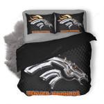 NFL Denver Broncos Duvet Cover Bedding Set