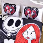 The Nightmare Before Christmas Bedding Set 4 (Duvet Cover & Pillow Cases)