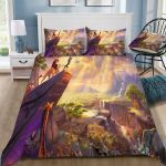 3d Disney The Lion King Poster Bedding Set (Duvet Cover & Pillow Cases)