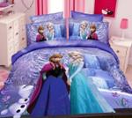 Elsa And Anna Frozen Cartoon Bedding Duvet Set