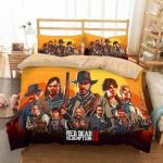 3d Red Dead Redemption 2 Duvet Cover Bedding Set 1