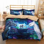 3d How To Train Your Dragon Duvet Cover Bedding Set 1