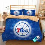 Nba Philadelphia 76ers 2 Logo 3d Duvet Cover Bedding Sets N