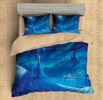 Duvet Cover Set Frozen Elsa 3pcs Bedding Set Flat Sheet Pillowcases Bedlinen