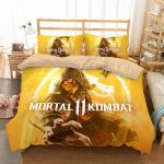 3d Printed Mortal Kombat Video Game Bedding Set (Duvet Cover & Pillow Cases)