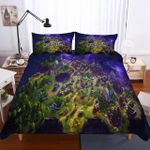 Fortnite Night Theme Digital Printing Household Blues 3D Bedding Set